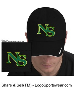 NIKE GOLF - DRI-Fit Mesh Swoosh Flex Sandwich Cap Design Zoom