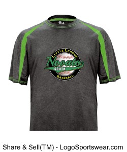 Fusion Tee Adult - Green Sleeve Design Zoom