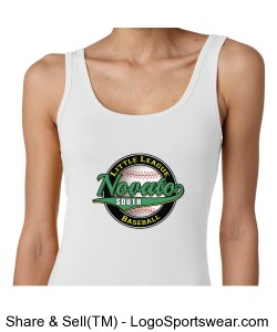 Next Level Ladies Tri-Blend Jersey Tank Design Zoom