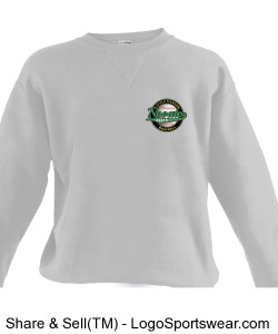 Adult Russell Dri POWER Crewneck Sweatshirt  Design Zoom